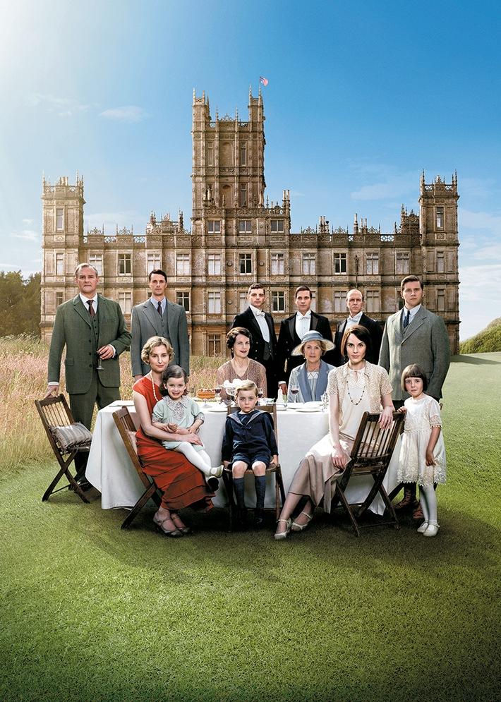 """Die finale Staffel von """"Downton Abbey"""" ab 3. Juni exklusiv auf Sky Atlantic HD"""