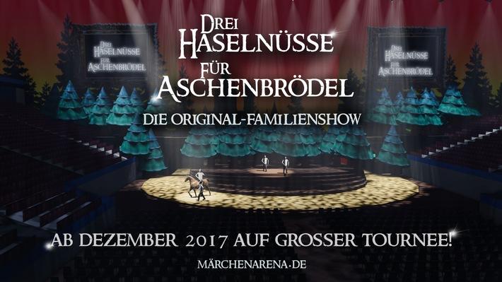 DREI HASELNÜSSE FÜR ASCHENBRÖDEL - Die Original-Familienshow / ICESTORM LIVE präsentiert ein MÄRCHENARENA Original / VVK-Start: 26.07.2017 - eventim.de