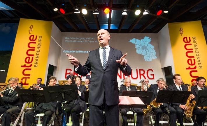 Grüne Woche 2016: Woidke dirigiert Brandenburg