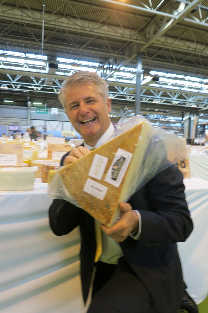 Selection Walo Von Mühlenen au World Cheese Award 2012 à Birmingham