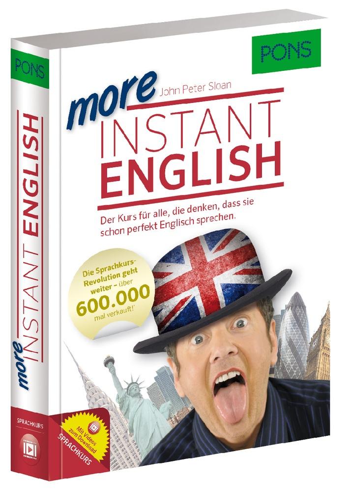 PONS Herbstprogramm 2014: More Instant English / Lernen mit Humor: Der angenehmste Weg zum Englischprofi