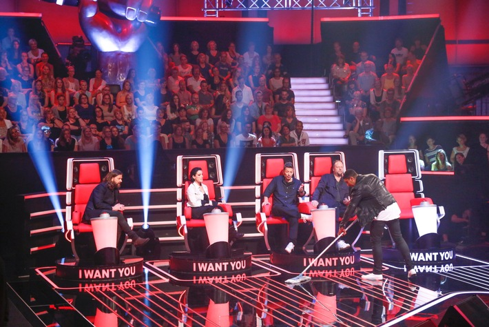 "Kehrwoche bei ""The Voice of Germany"""