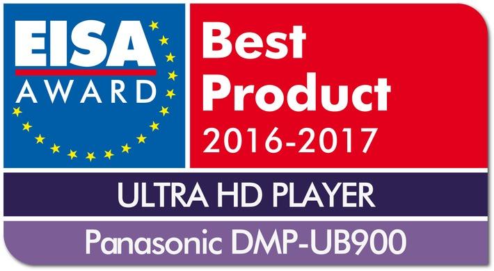 Panasonic auf der IFA: Panasonic vierfach mit EISA Awards ausgezeichnet