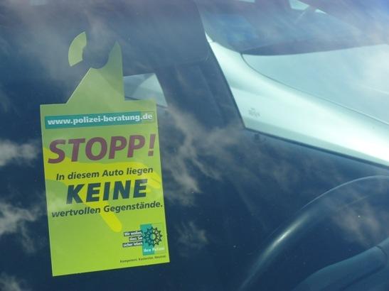 POL-DN: Stopp dem Diebstahl!