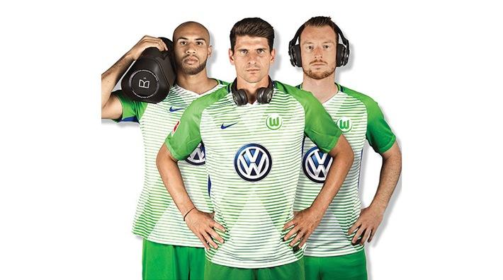 VfL Wolfsburg-Presseservice: Exklusiver Akustik-Partner: Monster engagiert sich beim VfL Wolfsburg