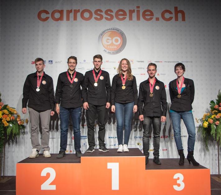 Schweizermeisterschaft Carrossier/-in Spenglerei und Lackiererei: Die AMAG gratuliert herzlich