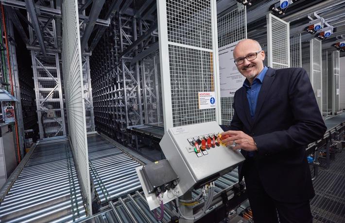 Construction en un temps record d'un centre logistique ultramoderne à Kölliken