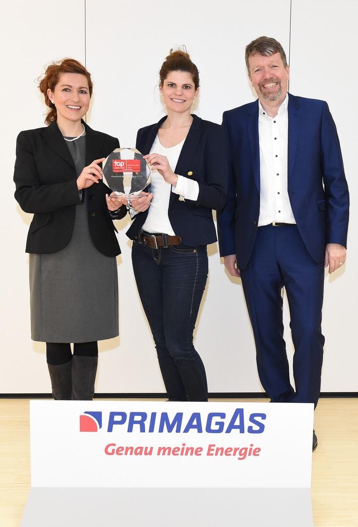 """Primagas erneut als """"Top Arbeitgeber"""" ausgezeichnet"""