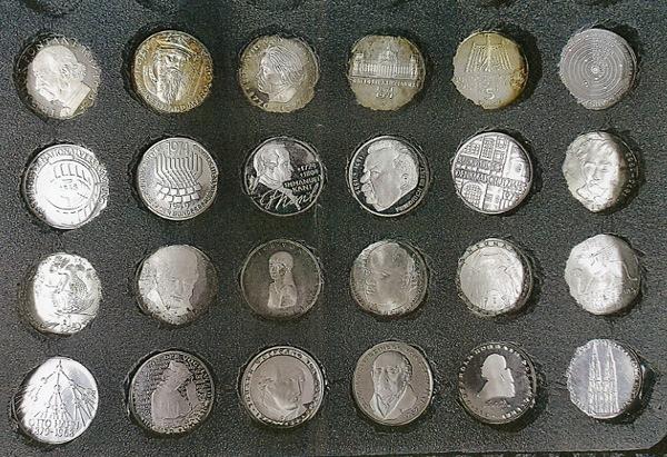POL-DA: Pfungstadt: Polizei veröffentlicht Bilder von gestohlenen Münzen / Wer kann Hinweise zum Verbleib geben?