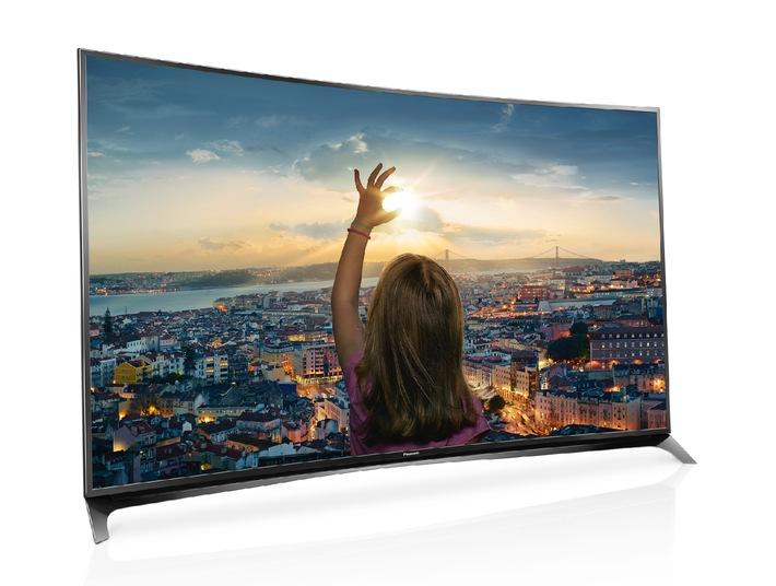 4K PRO, CURVED, FIREFOX OS: Das sind die Panasonic TVs in 2015 / Die Nummer 2 im deutschen TV-Gesamtmarkt 2014 durchbricht Grenzen in Bildqualität und setzt auf Wachstum