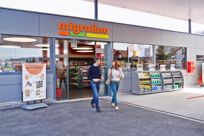 250. migrolino-Shop in Reinach AG (BILD)