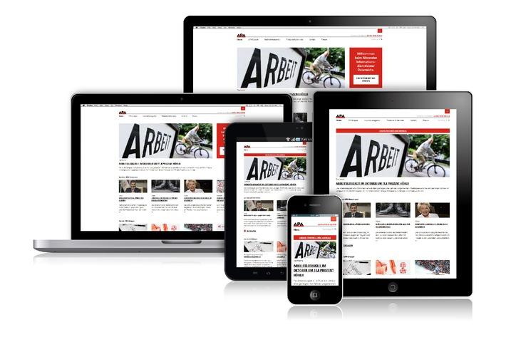 APA mit neuem Webportal - BILD