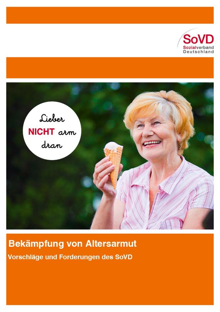Altersarmut bekämpfen: Der SoVD legt Vorschläge vor / Einladung zur Pressekonferenz / Akkreditierung erforderlich!