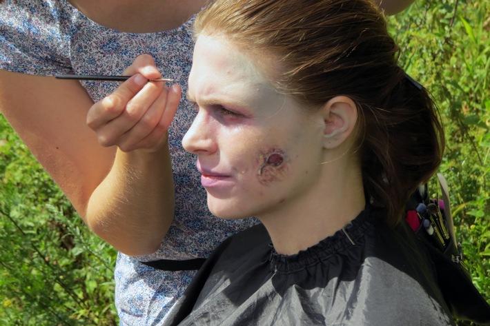 Filmprojekt zu Halloween - Studierende der Hochschule Fresenius drehen Zombie-Film für smart Center Frankfurt