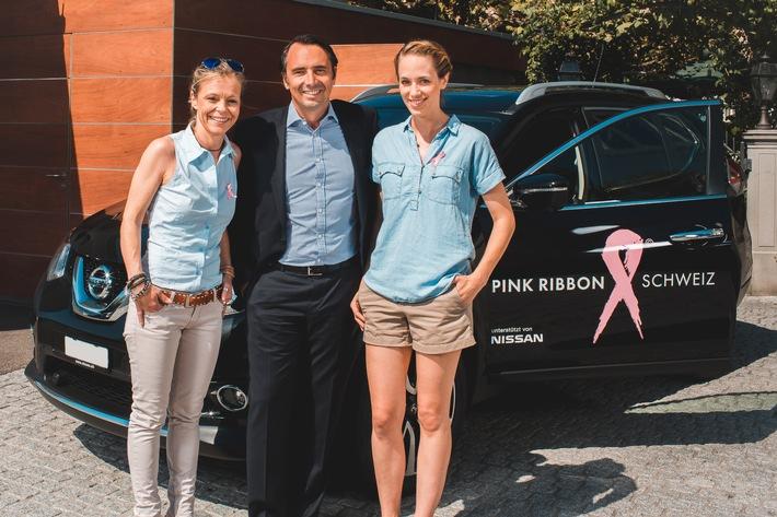 """Nissan Switzerland offre la mobilité à """"Pink Ribbon"""""""