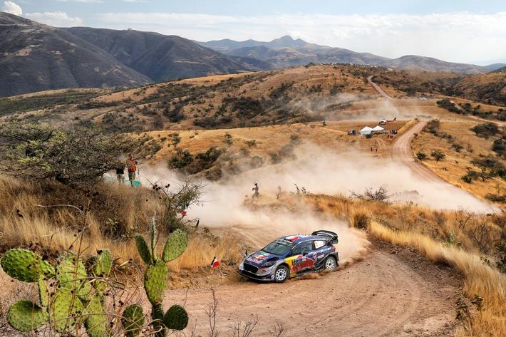Ford Fiesta WRC-Pilot Sébastien Ogier übernimmt in Mexiko wieder die Führung in der Fahrer-WM