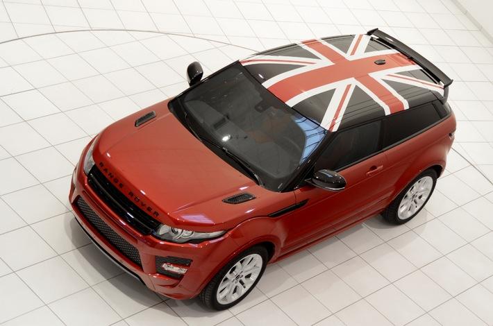 """Première Suisse de la version spéciale exclusive: Range Rover Evoque  """"Spirit"""""""