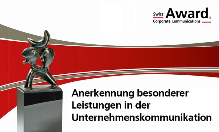 Voici les nominés pour le Prix Suisse de la Communication d'Entreprise 2016