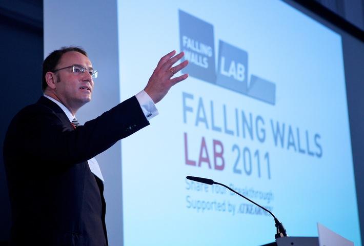 Neues internationales Forum für Nachwuchswissenschaftler und Young Professionals gestartet - Falling Walls Lab