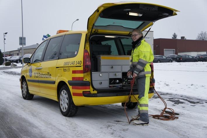Kältewelle: Weiterhin Hochbetrieb beim TCS