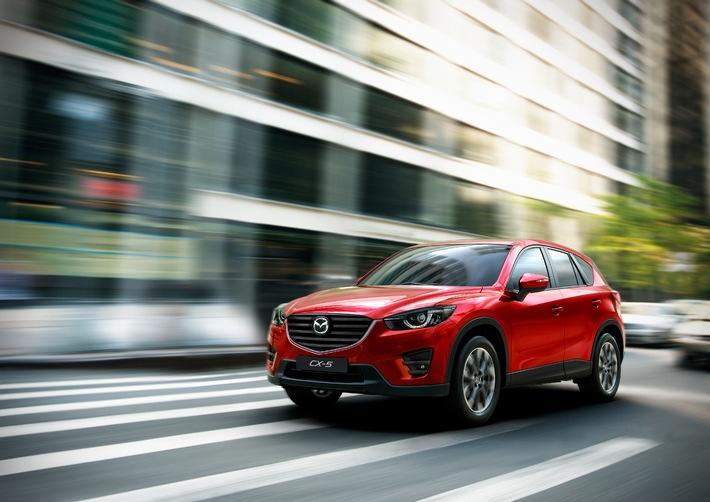 Mazda CX-5 2015 und Mazda6 2015 feiern Weltpremiere in Los Angeles