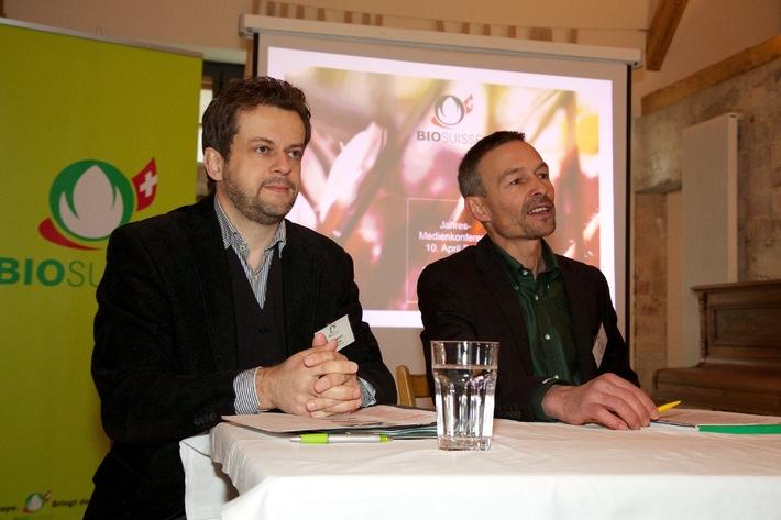 Conferenza stampa annuale Bio Suisse / Bio continua a crescere