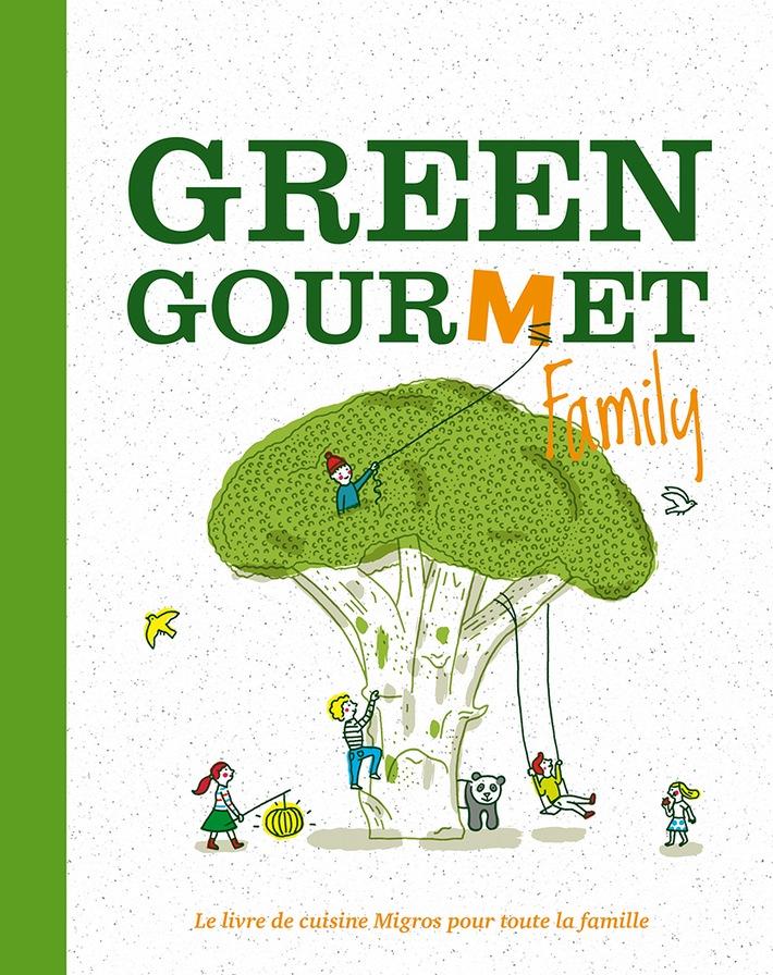Migros récompensée pour le livre de cuisine «Green Gourmet Family»