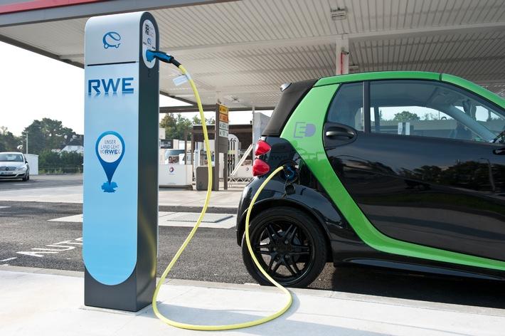 Elektroautos: Deutschlandweites Laden bei 80 Partnern von RWE