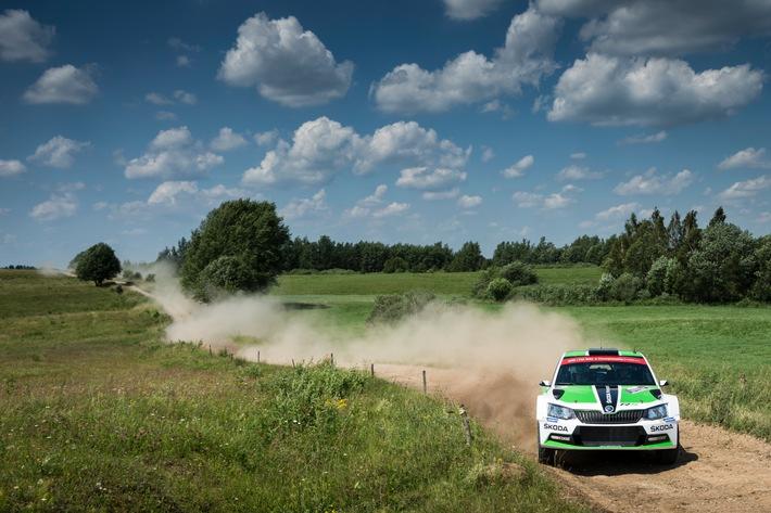 Rallye Finnland: SKODA ist bereit für die ,Formel 1 im Wald'