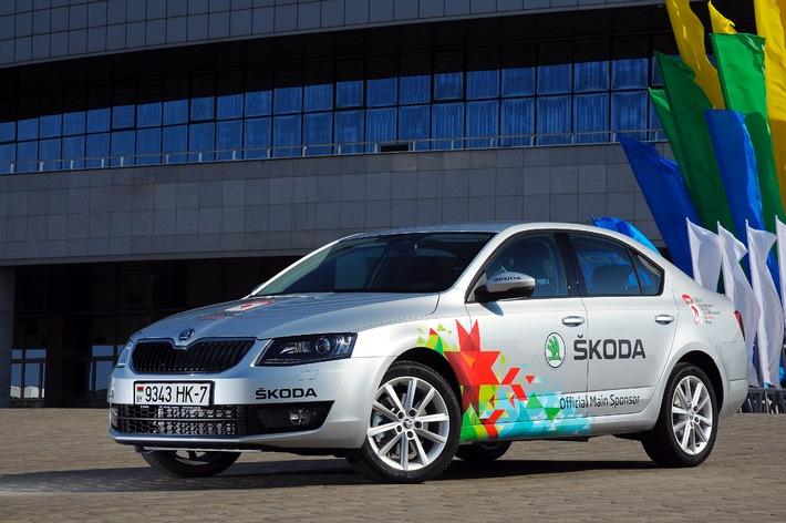 Rekord: SKODA ist zum 22 Mal Hauptsponsor der IIHF Eishockey-WM