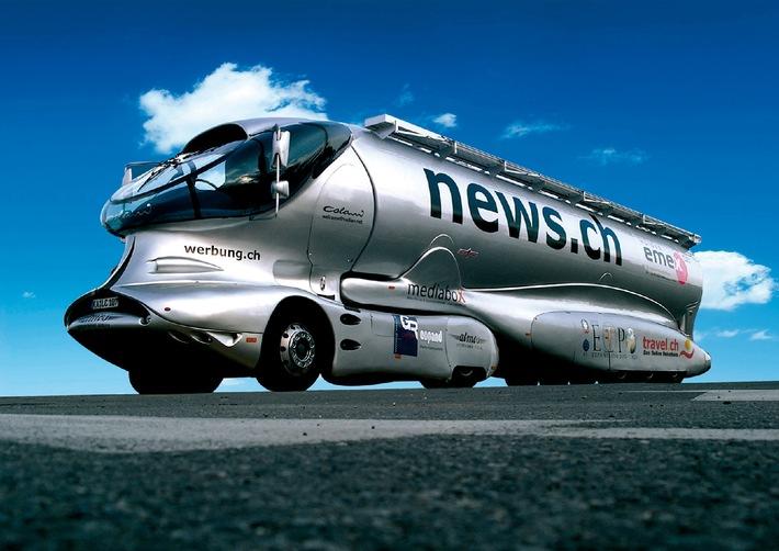 Legendärer Space Truck von Luigi Colani kommt an die SuisseEMEX'08
