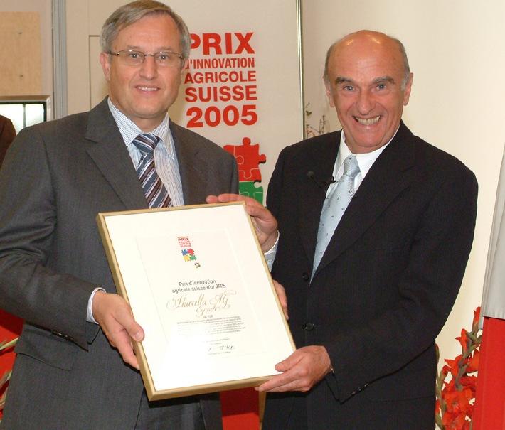 Thurella erhält Prix d'innovation agricole suisse 2005 (PIAS)