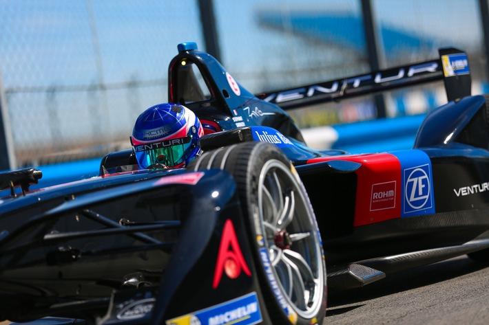 ZF ist offizieller Technologiepartner des Venturi Formula E Teams
