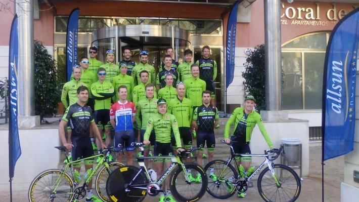 US-Profiteam bringt sich im allsun Hotel Coral de Mar für eine erfolgreiche Tour de France in Form / Cannondale/Garmin schlägt für zwei Wochen Trainingslager in Alcudia auf