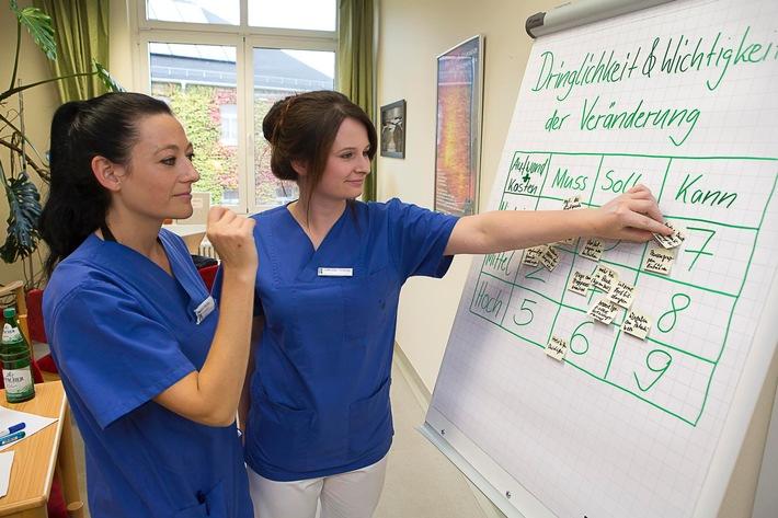 Mit BAuA-Leitfaden Stationsorganisation beurteilen und verbessern / Handlungsempfehlungen für stationäre Pflegeeinrichtungen