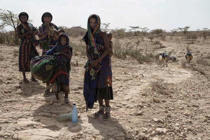 Caritas Suisse a augmenté son aide d'urgence à deux millions de francs en Afrique de l'Est / En Ethiopie, 10 millions de personnes sont menacées de famine