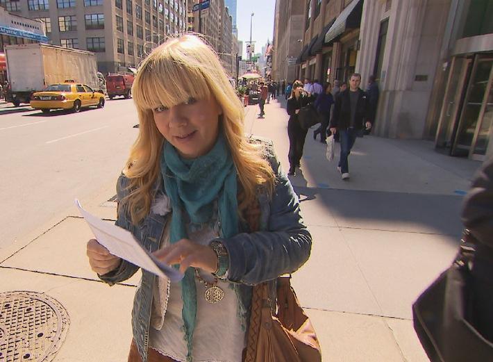 Julia Leischik auf Spurensuche in Manhattan - Sonntag in SAT.1 (mit Bild)