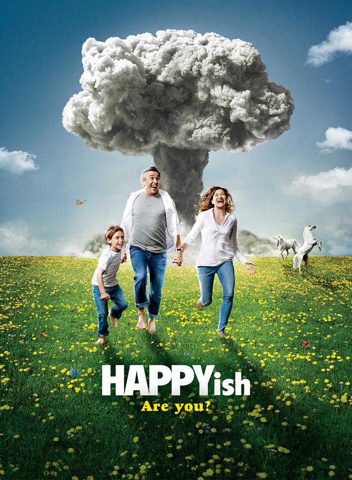 """Midlife-Crisis und Jugendwahn: Sky zeigt die satirische Showtime-Serie """"Happyish"""""""