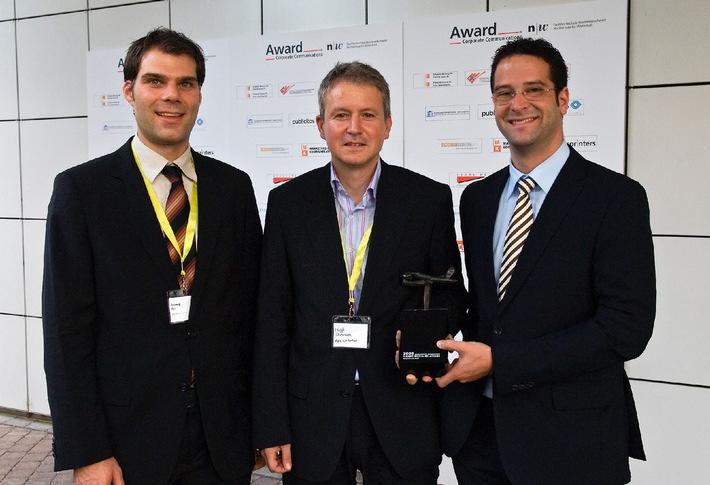 AXA Winterthur gewinnt Award Media Relations