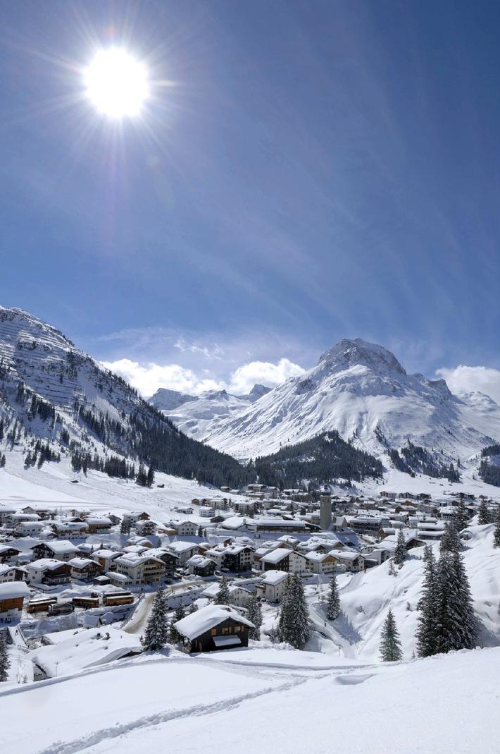 Lech Zürs ist zum zweiten Mal in Folge die erfolgreichste Winterdestination im Alpenraum