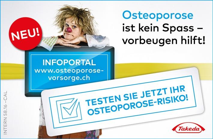 Knochendichteverlust frühzeitig vorbeugen: Umfassendes Informationsportal zur Vorsorge der Osteoporose lanciert
