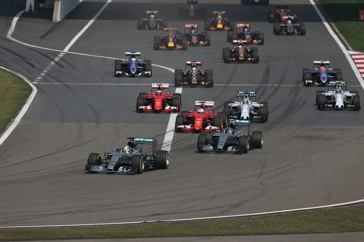 Start der Königsklasse des Motorsports - die Formel 1 auf Sky