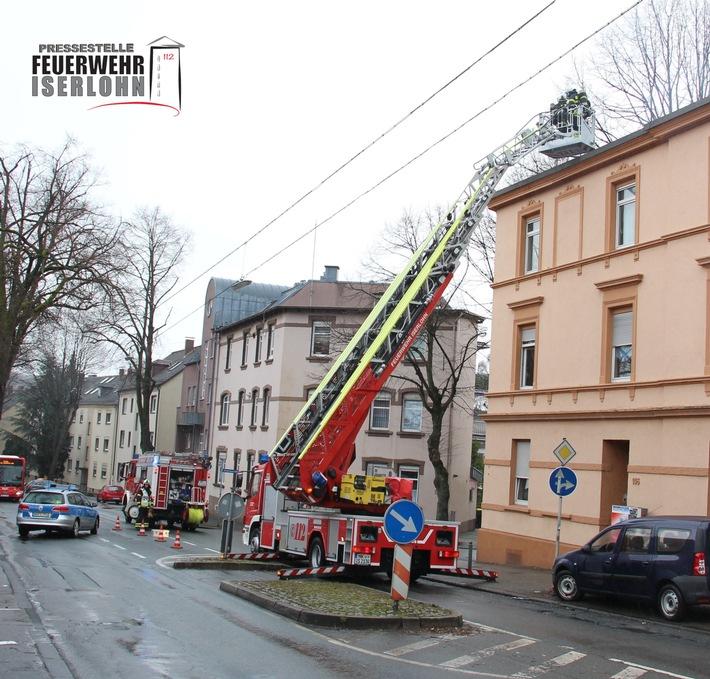 FW-MK: Einsatzchronologie für den Montagvormittag, 07.03.2016