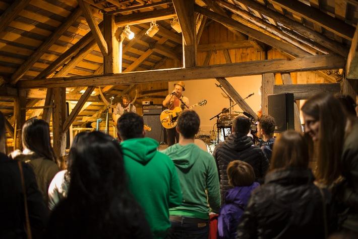 Konzertreihe BREATHE AUT gastierte im Bregenzerwald - BILD