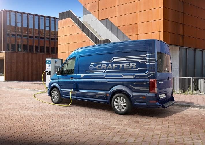 Das Highlight der diesjährigen Nutzfahrzeug-IAA: Der neue e-Crafter