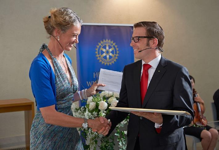 Rotary Club Zürich City gegründet
