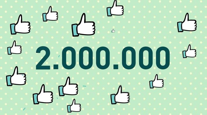 2 Millionen Facebook-Fans für Lidl Deutschland / Lidl hat die größte Facebook-Community unter den deutschen Lebensmitteleinzelhändlern