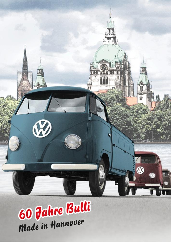 60 Jahre Bulli - Made in Hannover / Bulli-Bummel zum Jubiläum!
