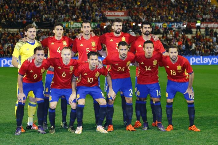 Trainingszeiten der spanischen Nationalelf stehen fest - BILD