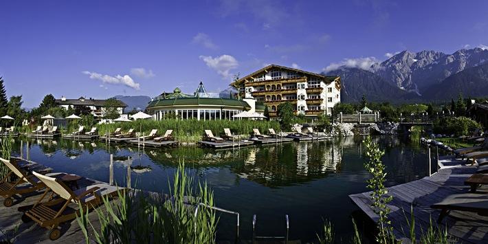 """Alpenresort Schwarz gewinnt European Health & Spa Award als """"Best Hotel Spa"""""""